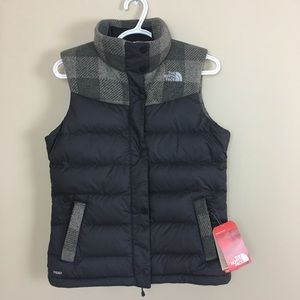 The North Face goose down 700 fill vest S